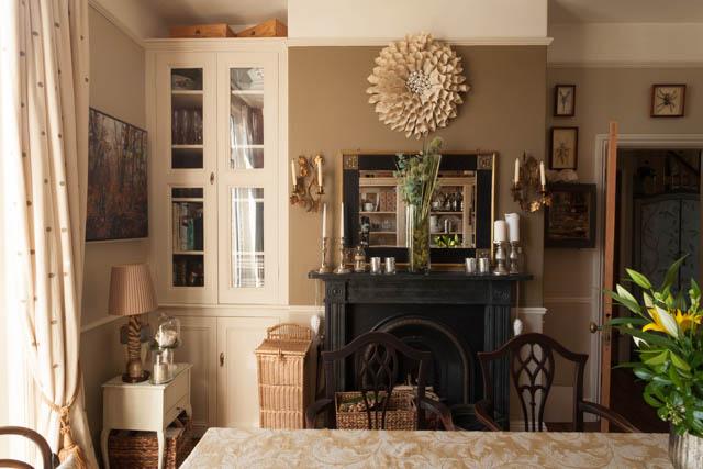 Slate Effect fireplace