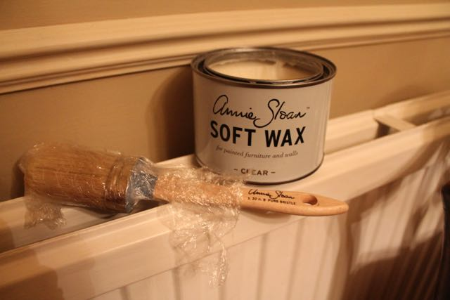 I warm up my wax to make it easy to get into crevices.