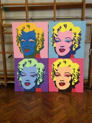 Andy Warhol mosaics