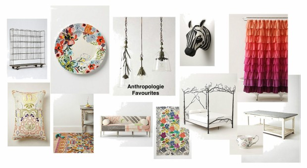 Anthropologie mood board