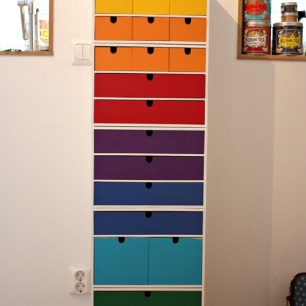 This multicoloured epic tower is from sakochbild blog
