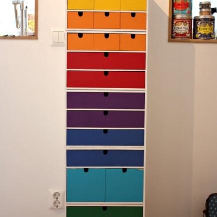 This multicoloured epic tower is from sakochbild blog