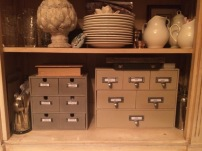 Using Moppe drawers as wall art