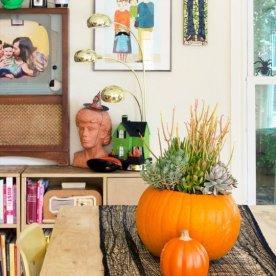 pumpkin-plant-centerpiece