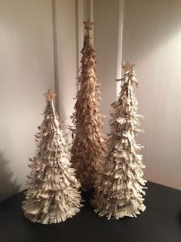 Vintage Paper Christmas Trees
