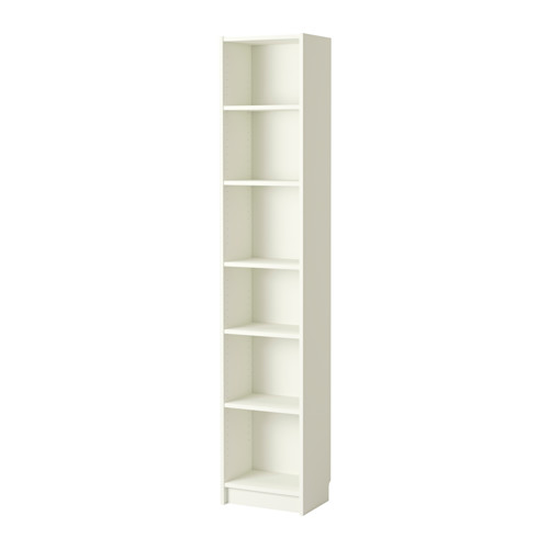 Two skinny Billy Bookcases