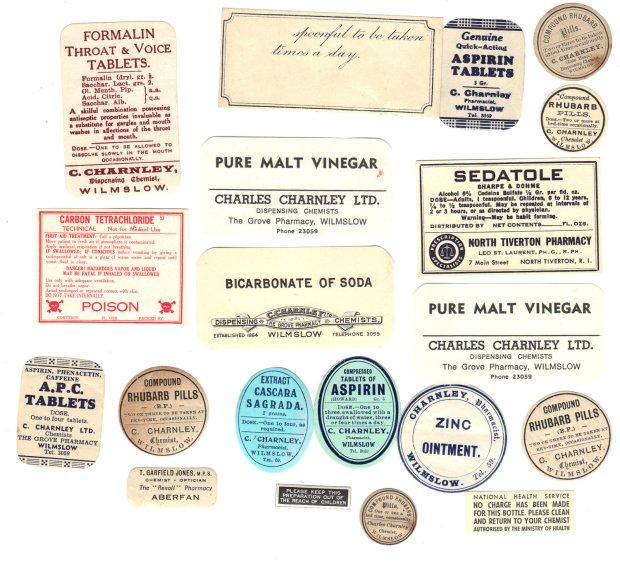 Old Chemist Labels 2
