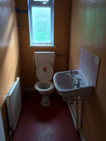 Once a small loo...